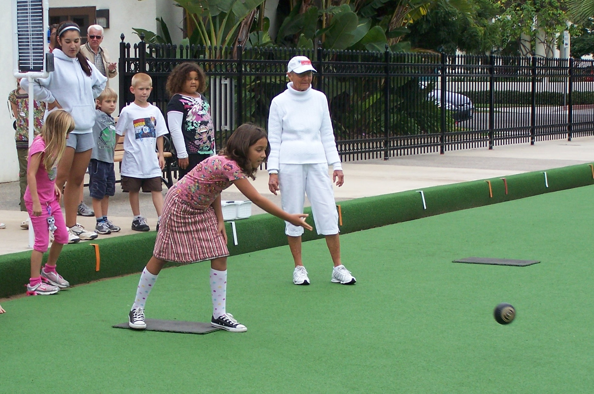 youth lawn bowling